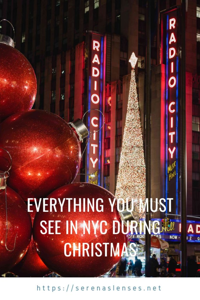 Nyc Christmas.Christmas In New York The Most Instagrammable Places In Nyc